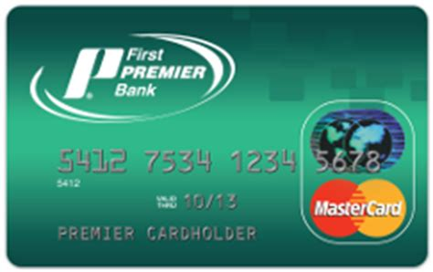 premierr bank classic credit card