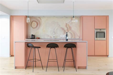 Pink Kitchen Inspiration by 51 Inspirational Pink Kitchens With Tips Accessories To