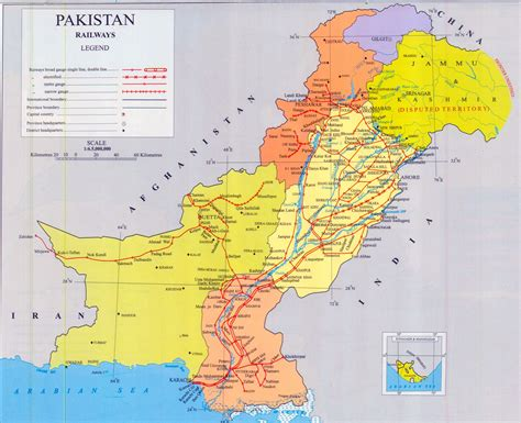 Maps Of Pakistan  Detailed Map Of Pakistan In English