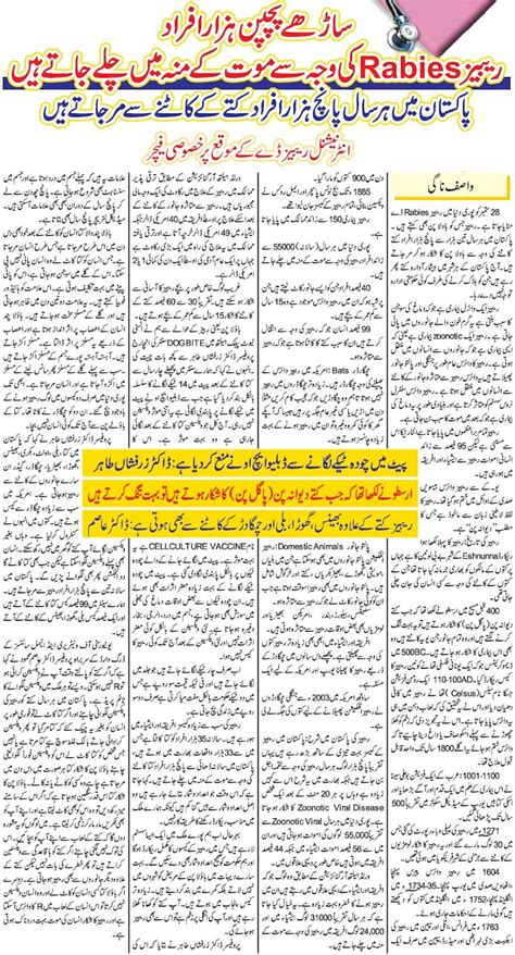 Rabies Disease in Pakistan ~ Look Pakistan News,Culture ...