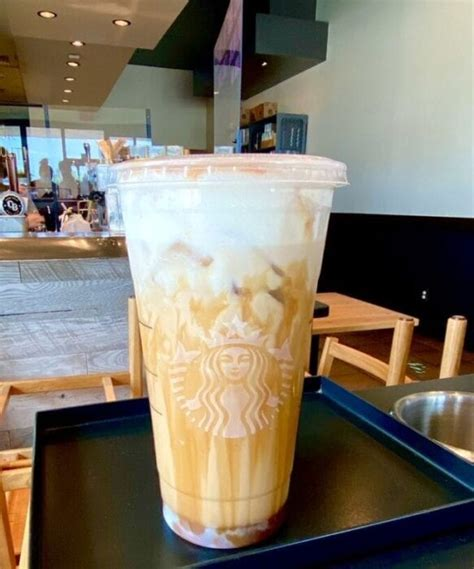 salted caramel white mocha cold brew