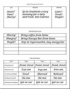 Habit Change Worksheet