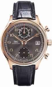 Iw390405 Iwc Portuguese Chronograph Classic Mens Gray Dial