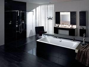 salle de bains deco du noir pour une salle de bains With salle de bain design avec décoration soirée irlandaise