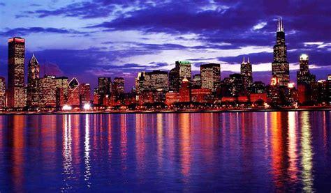 Skyline Background Chicago Skyline Wallpaper Gallery