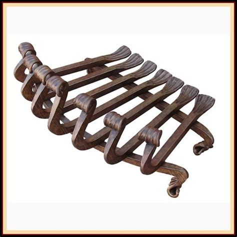 fireplace log grate decorative wrought iron fireplace grate northshore fireplace 3750