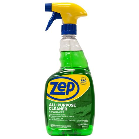 all purpose cleaner zep 32 oz all purpose cleaner and degreaser zuall32 the