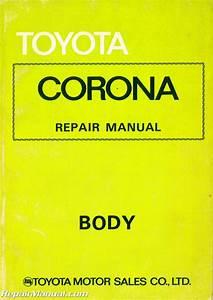 Used 1973 Toyota Corona Body Group Repair Manual