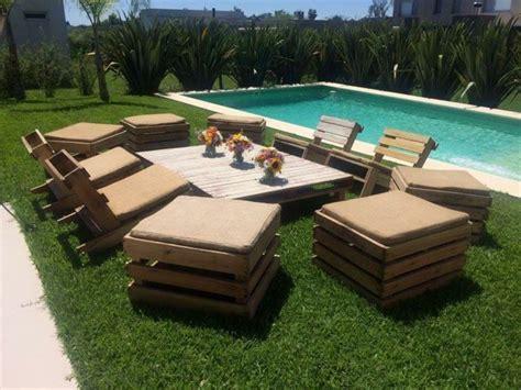 canape terrasse pas cher meuble exterieur diy