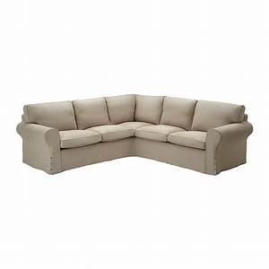 Ikea ektorp 22 corner sofa cover slipcover risane natural for Sectional slipcovers canada