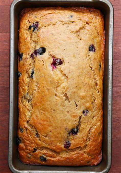 tasty tuesday healthy blueberry banana bread  bear