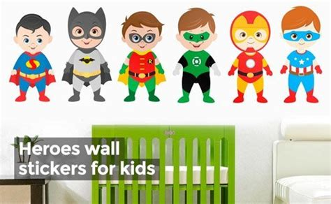 stickers muraux heros 28 images les enfants stickers muraux h 233 ros h 233 ros wall decals