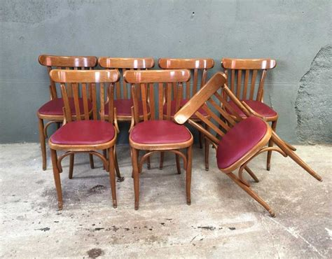 chaise bistrot ensemble 8 chaises bistrot style baumann