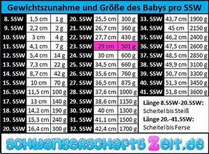 Ssw Nach Et Berechnen : tabelle 23 ssw gewichtszunahme gr e ~ Themetempest.com Abrechnung