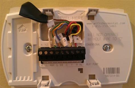 question regarding a honeywell thermostat wiring the new unit doityourself community forums