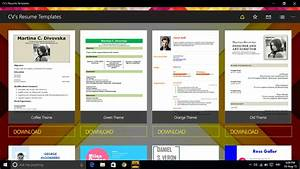 delighted resume download app store pictures inspiration With resume builder app for windows 10