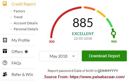 A cibil score of 750 or above in your credit report is ideal and will aid in qualifying you for personal loans and credit cards. Cibil Score Report, Free Credit Score using PAN Number ...