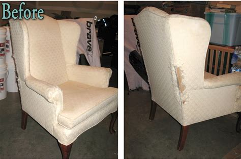 Vintage Blossom Wingback Chair