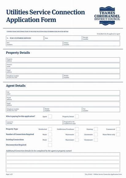 Service Application Form Forms Sample Provider