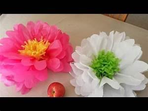 Blumen Aus Seidenpapier : blumen basteln zur fr hlingsdeko basteln blumen basteln blumen und papier ~ Orissabook.com Haus und Dekorationen