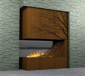 Amazing fireplaces design collections for indoor and for Amazing fireplace wall designs