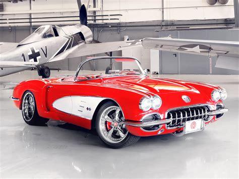 Chevrolet Corvette C1 Pogea Racing 1959 Chevrolet Corvette