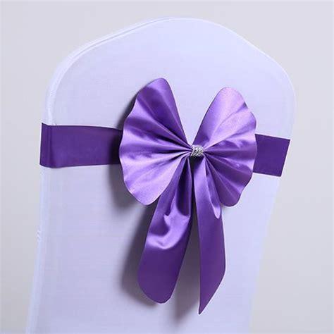 noeud de chaise violet noeud de chaise violet 28 images d 233 coration de table noeud de chaise satin violet noeud
