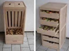 Stauraum Fuer Die Garage Richtig Verstauen Und Lagern by Details Zu Obst Kiste Holz Lebensmittel Gem 252 Se Stapel