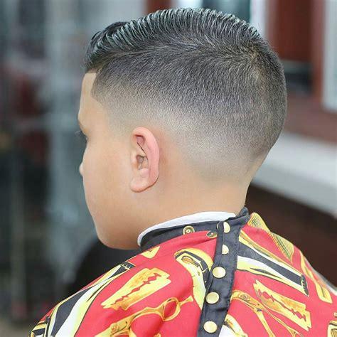 neat  clean boy  fade haircut menhairdos