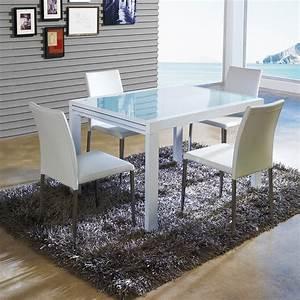 Table A Manger A Rallonge : table a manger avec rallonge zendart design ~ Teatrodelosmanantiales.com Idées de Décoration