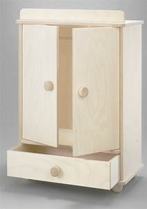 Großer Kleiderschrank Ikea : gro er puppenkleiderschrank made in germany 2 schrankt ren schublade und kleiderstange ~ Frokenaadalensverden.com Haus und Dekorationen