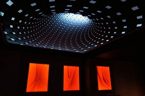 installing led lights in ceiling 3d effect new technology on stretch ceiling with rgb led