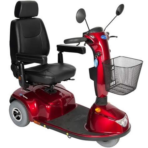 inspect invacare pegasus  wheel mobility scooter