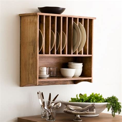wall mounted kitchen plate storage rack wall mounted plate rack from withinhome kitchen 9591