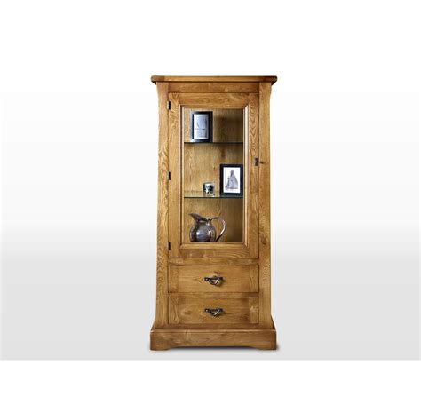 chestnut kitchen cabinets charm display cabinet with light 2155