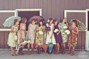 retro bridesmaid dresses vintage floral bridesmaid dresses