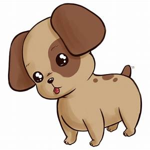 How to Draw a Cute Anime Cartoon Puppy: 8 Steps (with ...