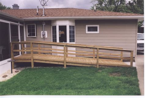 build wheelchair ramp plans wood  plans