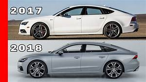 2017 Audi A7 vs 2018 Audi A7 - YouTube
