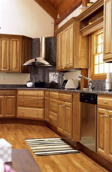 hickory wood cabinets kitchens pros and cons of hickory kitchen cabinets home guides 4200
