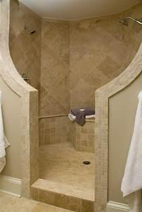 walk in showers with seat general contractor home With walk in shower no door
