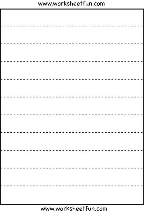 straight  tracing  worksheets  printable