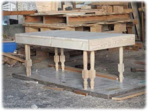 chaise en bois de palette table basse en bois de palette pieds de chaises