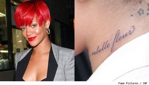 Rihanna's Tattoo Typo Oops