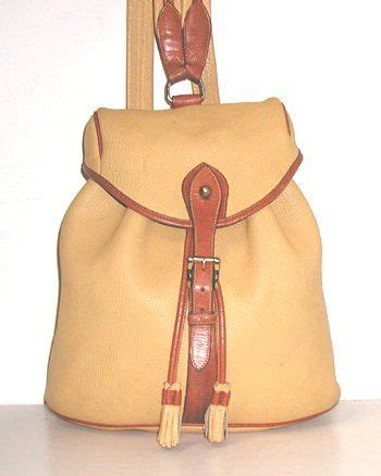 vintage dooney bourke all weather leather sherpa