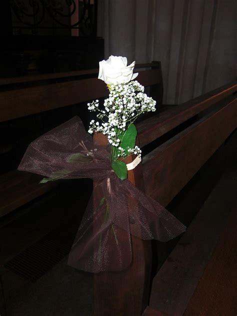 decoration banc eglise pour mariage langlet fleurs d 233 coration d 233 glise provins seine et marne 77