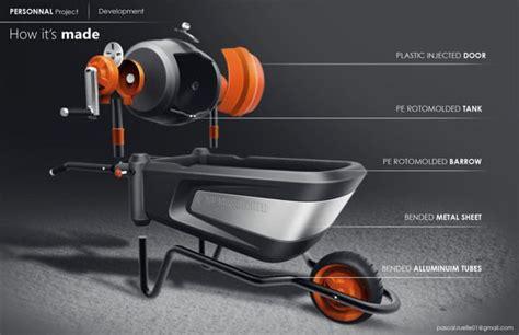 black decker cement mixer  pascal ruelle  behance