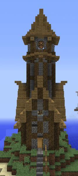 unfurnished medieval lighthouse grabcraft  number
