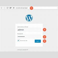 How To Find Wordpress Login Url  Wordpress Admin Login Url