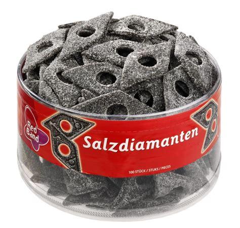 Red Band Salzdiamanten Lakritz 100 Stück